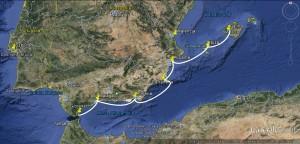 Majorka-Gibraltar