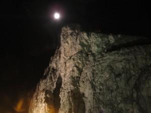 017 Księżyc nad Gibraltarem