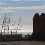 041 Z Alcazar w Almeria na wschód - w siną dal