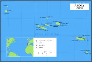 Azory_mapa
