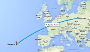 Lot na Azory